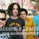 Testo, Accordi e Tablatura di Stickin' In My Eye – NOFX