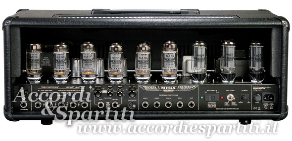 Mesa triple rectifier back blog