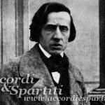Spartito per Pianoforte del Valzer Op. 64 n. 2 in Do# minore – Frèdèric Chopin