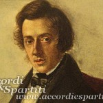 Spartito per Pianoforte dell' Etude Op. 10 n. 4 in Do diesis minore – Frédéric Chopin