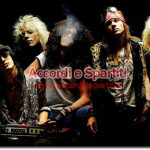 Testo, Accordi e Tablatura per Chitarra di Sweet Child O'Mine – Guns n' Roses