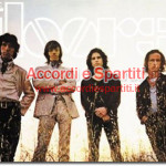 Testo, Accordi e Spartito per Pianoforte (Tastiera) di Riders On The Storm – The Doors